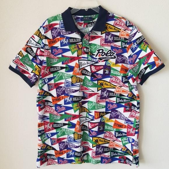 60b3f856 Polo by Ralph Lauren Shirts   Polo Ralph Lauren Polo Bears Pennant ...